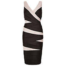 Buy Planet Shimmer Shutter Dress, Multi Black Online at johnlewis.com