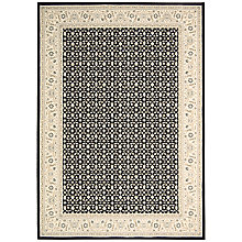 Buy John Lewis Persian Empire Rug, Black Online at johnlewis.com