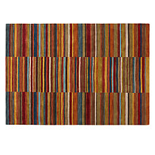 Buy John Lewis Russet Broken Stripe Rug Online at johnlewis.com