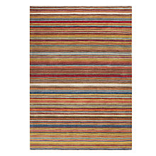 Buy John Lewis Russet Multistripe Rug Online at johnlewis.com