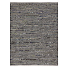 Buy John Lewis The Basics Soft Weave Rug, Blue/Grey Online at johnlewis.com