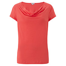 Buy Jigsaw Yoke Cowl T-Shirt Online at johnlewis.com