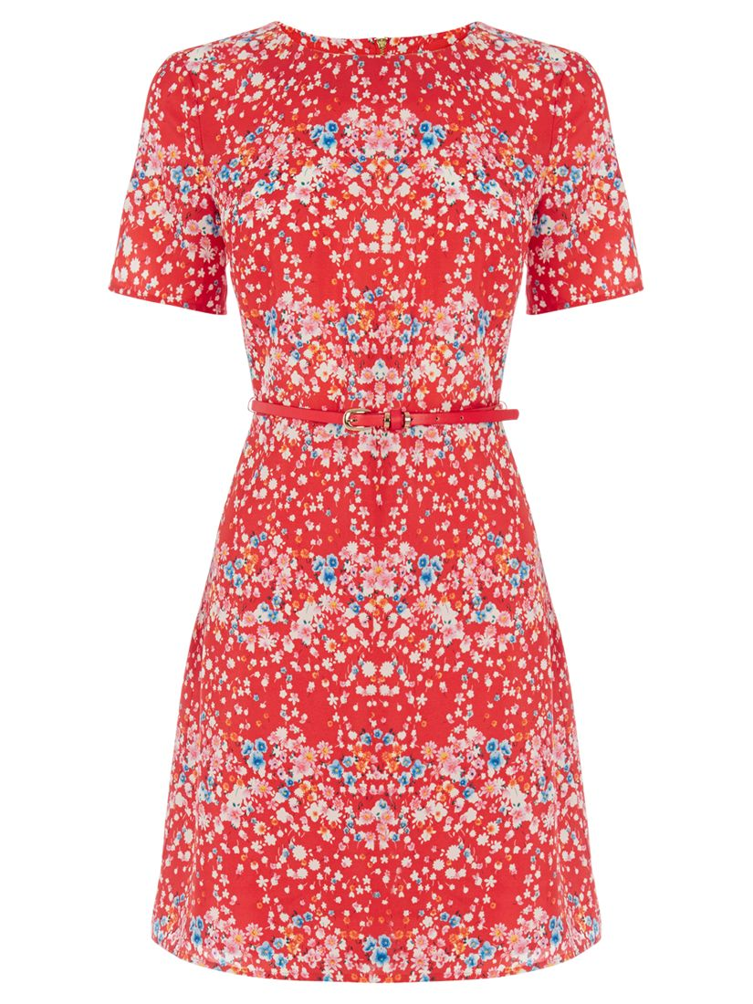 oasis falling blossom dress red, oasis, falling, blossom, dress, red, 8|16|14|10|12, women, womens dresses, 1885280