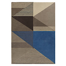 Buy John Lewis Scandi Edge Rug, Nordic Blue Online at johnlewis.com