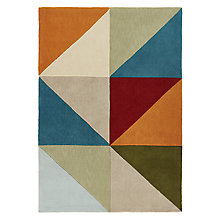 Buy John Lewis Scandi Triangles Rug Online at johnlewis.com