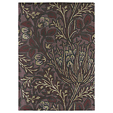 Buy Morris & Co Artichoke Rug, Purple Online at johnlewis.com
