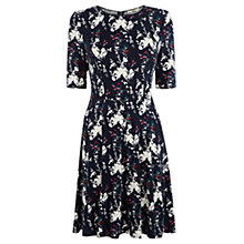 Buy Oasis Bloom Bird Dress, Blue Online at johnlewis.com