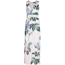 Buy Ted Baker Racha Distinguishing Rose Maxi Dress, Lilac Online at johnlewis.com