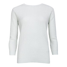 Buy Ted Baker 3D Pretty Stitch Jumper, Mint Online at johnlewis.com