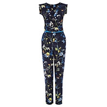 Buy Oasis Midnight Bird Jumpsuit, Navy Online at johnlewis.com