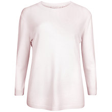 Buy Ted Baker Cashmere Elbow Patch Jumper, Nude Pink Online at johnlewis.com