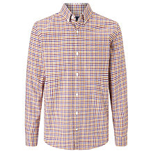 Buy John Lewis Long Sleeve Tattersall Oxford Shirt Online at johnlewis.com
