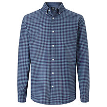 Buy John Lewis Long Sleeve Gingham Oxford Shirt Online at johnlewis.com