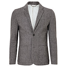 Buy Kin by John Lewis Herringbone Blazer, Grey Online at johnlewis.com