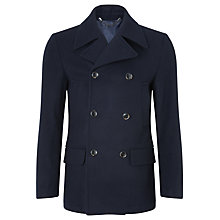 Buy Kin by John Lewis Peacoat, Dark Navy Online at johnlewis.com