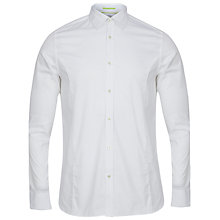 Buy Ted Baker Gudplyn Reversible Cuff Plain Shirt Online at johnlewis.com