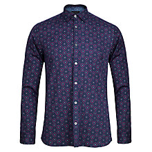 Buy Ted Baker Pcharm Geo Print Long Sleeve Shirt Online at johnlewis.com