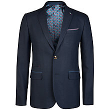 Buy Ted Baker Saturn Patterned Suit Jacket, Navy Online at johnlewis.com