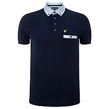 Buy Lyle & Scott Stripe Collar Polo Shirt Online at johnlewis.com