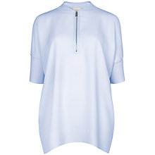 Buy Ted Baker Batwing Ribbed Jumper, Powder Blue Online at johnlewis.com