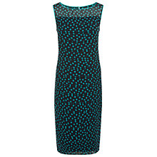 Buy Jacques Vert Spot Layers Dress, Navy Online at johnlewis.com