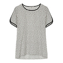 Buy Gerard Darel Accordeon Shirt, Ecru Online at johnlewis.com