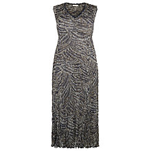 Buy Windsmoor Animal Print Abstract Dress, Multi Navy Online at johnlewis.com