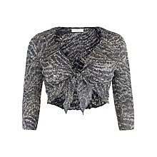 Buy Windsmoor Animal Abstract Shrug, Multi Navy Online at johnlewis.com