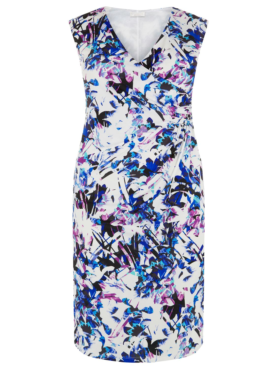 windsmoor lily print short dress multi white, windsmoor, lily, print, short, dress, multi, white, 18|12|20|22|24|16|14, women, plus size, womens dresses, special offers, womenswear offers, 20% off selected windsmoor, gifts, wedding, wedding clothing, female guests, 1887618