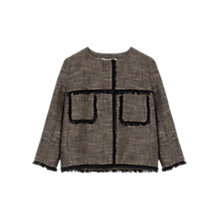 Buy Gerard Darel Avril Jacket, Black Online at johnlewis.com