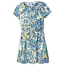 Buy Fat Face Abstract Floral Tunic Dress, Multi Online at johnlewis.com