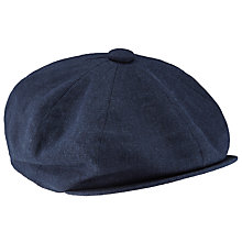 Buy JOHN LEWIS & Co. Baker Boy Hat, Navy Online at johnlewis.com
