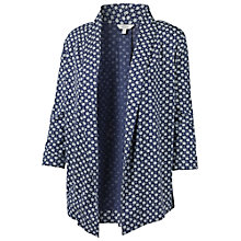 Buy Fat Face Callington Batik Star Jacket, Dark Chambray Online at johnlewis.com