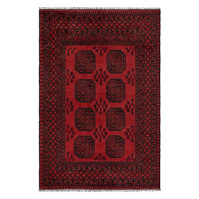 John Lewis Afghan Rug, Red