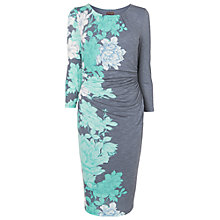 Buy Phase Eight Corrine Print Dress, Aqua Online at johnlewis.com