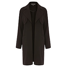 Buy Warehouse Duster Coat, Black Online at johnlewis.com