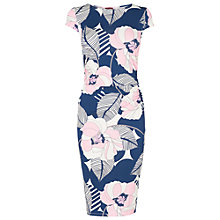 Buy Phase Eight Ashton Dress, Denim/Multi Online at johnlewis.com