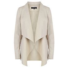 Buy Warehouse Waterfall Drape Jacket, Mink Online at johnlewis.com