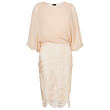 Buy Phase Eight Laura Dress, Cream Online at johnlewis.com