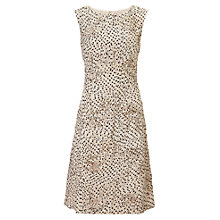 Buy Phase Eight Dottaline Tapework Dress, Petal/Black Online at johnlewis.com
