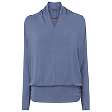 Buy Phase Eight Gwyneth Dana Top, Denim Online at johnlewis.com
