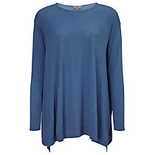 Buy Phase Eight Lauren Oversized Top, Denim Online at johnlewis.com