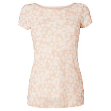 Buy Phase Eight Suze Spot Lace Top, Pink/White Online at johnlewis.com