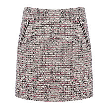 Buy Warehouse Tweed A-Line Skirt, Multi Online at johnlewis.com