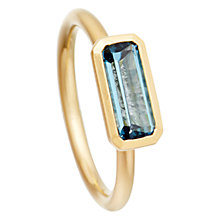 Buy Astley Clarke London Blue Topaz Ring Online at johnlewis.com