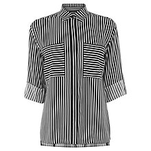 Buy Warehouse Relaxed Stripe Shirt, Multi Online at johnlewis.com