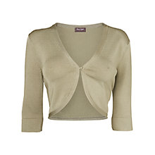 Buy Phase Eight Knitted Shrug, Leaf Online at johnlewis.com