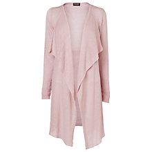 Buy Phase Eight Luella Linen Cardigan, Soft Pink Online at johnlewis.com