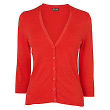 Buy Phase Eight Elin Cardigan, Red Online at johnlewis.com