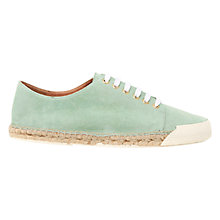 Buy Mint Velvet Paris Suede Espadrille Plimsolls, Mint Online at johnlewis.com
